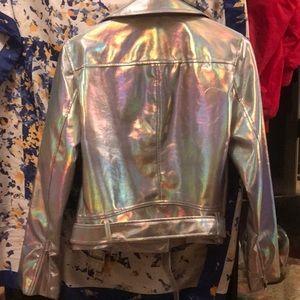 Forever 21 Jackets & Coats - FOREVER 21 metallic jacket